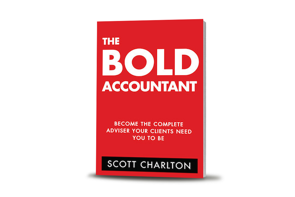 buy scott charlton's the BOLD accountant